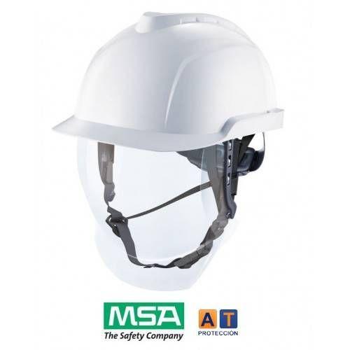 casco dielectrico msa v-gard 950