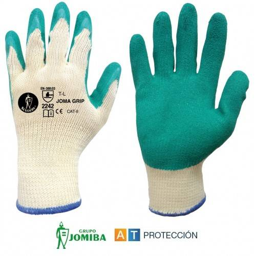 GUANTES LATEX RUGOSO ECO