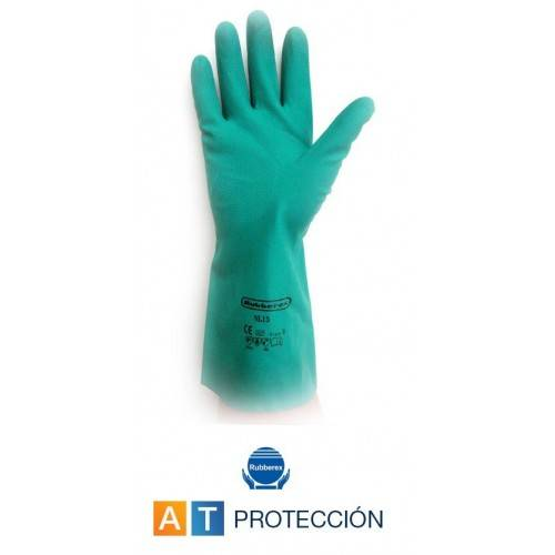 Guantes nitrilo flocados Rubberex NL 15
