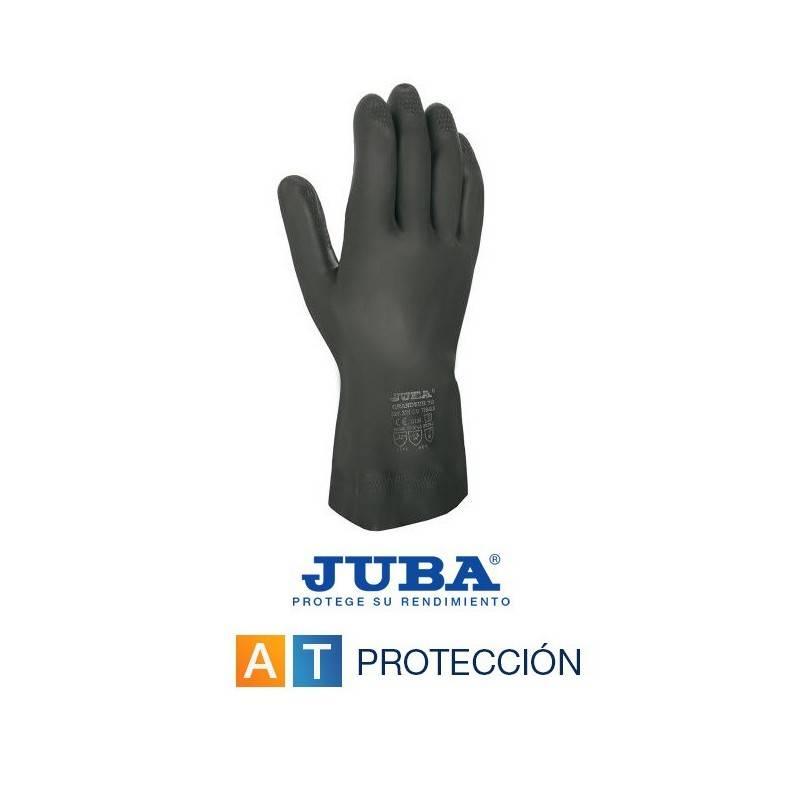 92fb1d90fa2 Guantes neopreno-látex negros JUBA 321CB
