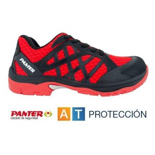 Zapatos Panter Argos S1P Rojos
