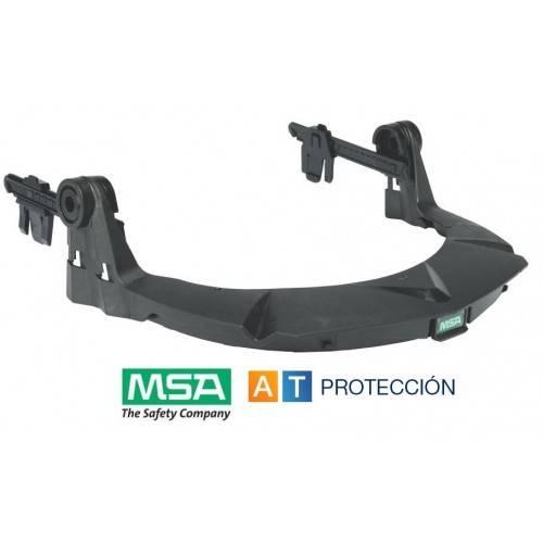 Montura MSA V-Gard para cascos con ranura