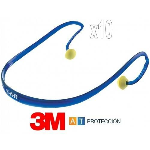 Pack 10 tapones con banda 3M EAR BAND