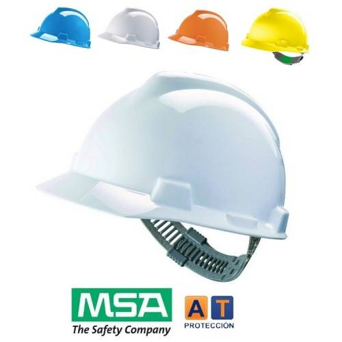 Casco MSA V-Gard Push Key