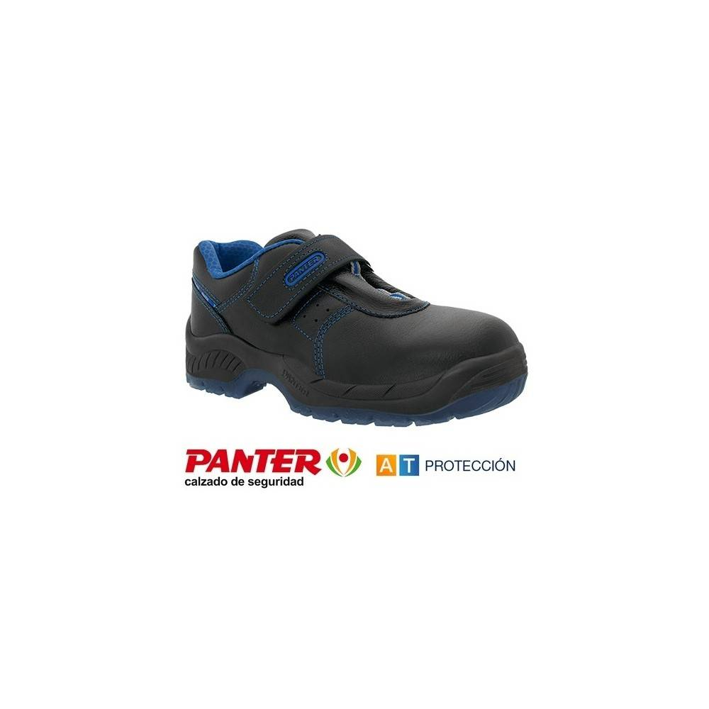 Plus Zapatos Panter Diamante S3 Velcro ExgFPwq