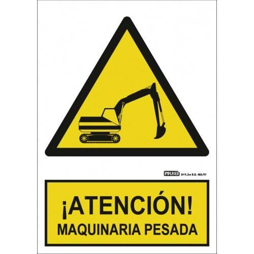 ¡ATENCIÓN! MAQUINARIA PESADA A4 Y A3