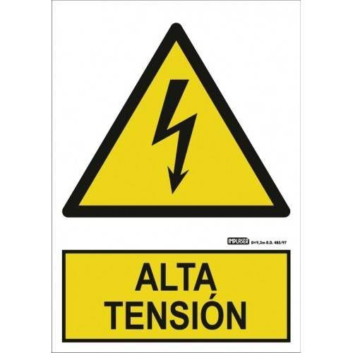 Señal ALTA TENSIÓN A4 Y A3