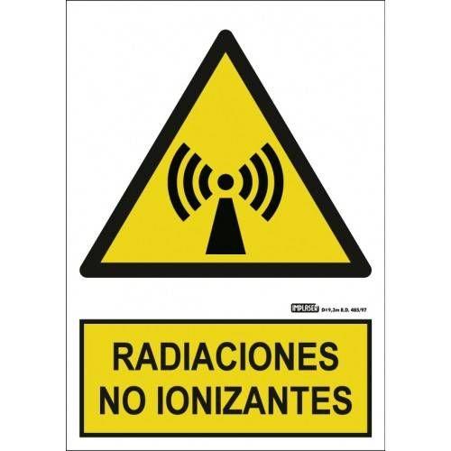 Señal RADIACIONES NO IONIZANTES A4 Y A3