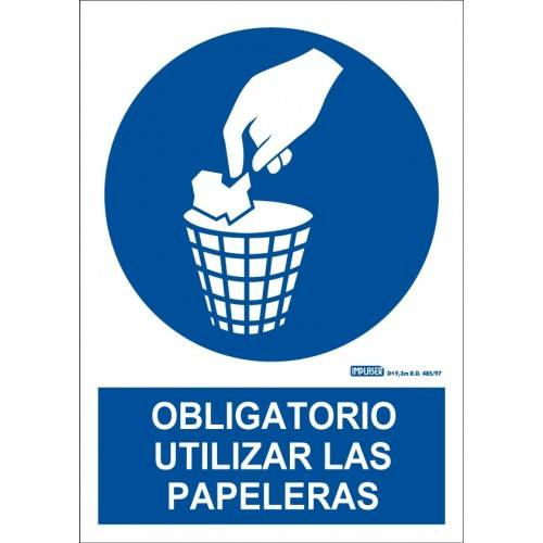 ES OBLIGATORIO UTILIZAR PAPELERA A4 Y A3