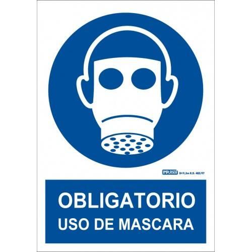 ES OBLIGATORIO EL USO DE LA MASCARA A4 Y A3