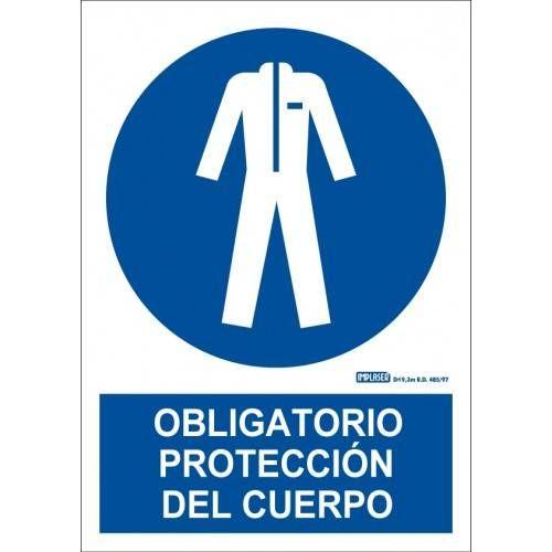PROTECCIÓN OBLIGATORIA DEL CUERPO A4 Y A3