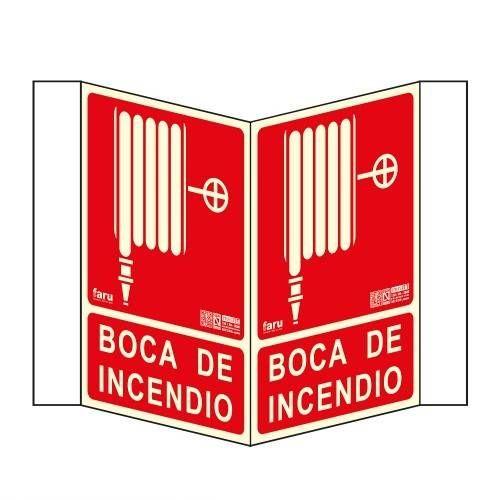 SEÑALES TIPO PANORÁMICO BOCA DE INCENDIO A4 Y A3