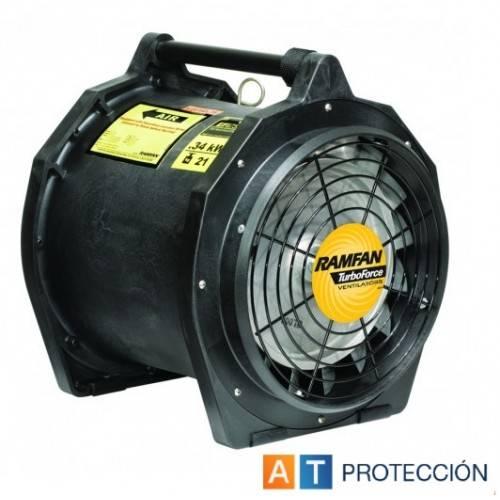 Ventilador-extractor PROF ATEX para tubo de 30cm