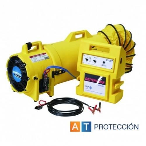 Ventilador-extractor 12V. PROF.