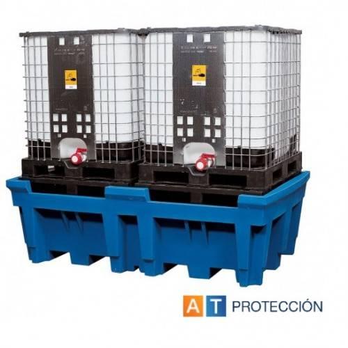 Cubeto colector para dos KTC