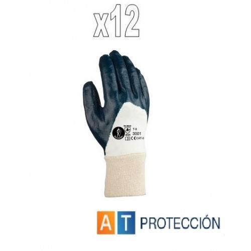 Pack 12 par guantes nitrilo dorso fresco 23001