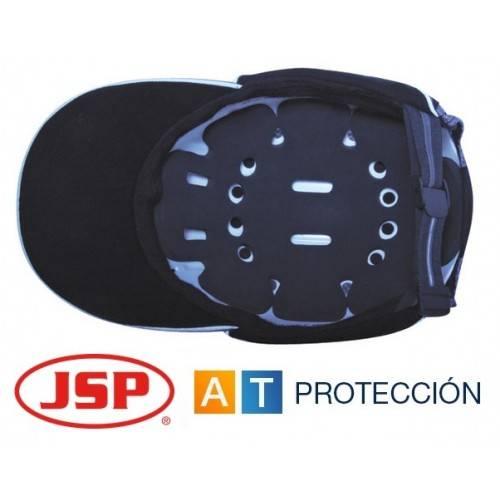 Gorra de seguridad antigolpes JSP ABR NEGRA NARANJA
