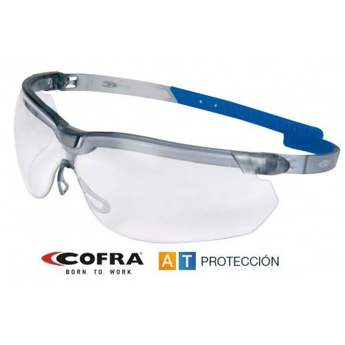 Gafas COFRA PIVOTED transparentes