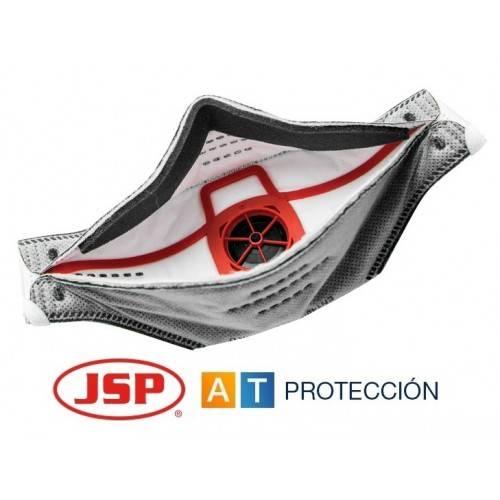 Pack 10 mascarillas FFP3 JSP Springfit carbón activo
