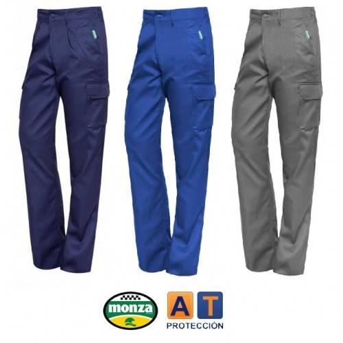 Pantalón de trabajo algodón multibolsillos MONZA 1131