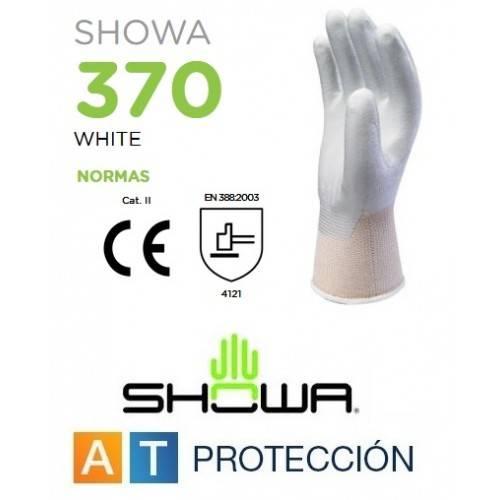 Guantes SHowa 370W nitrilo