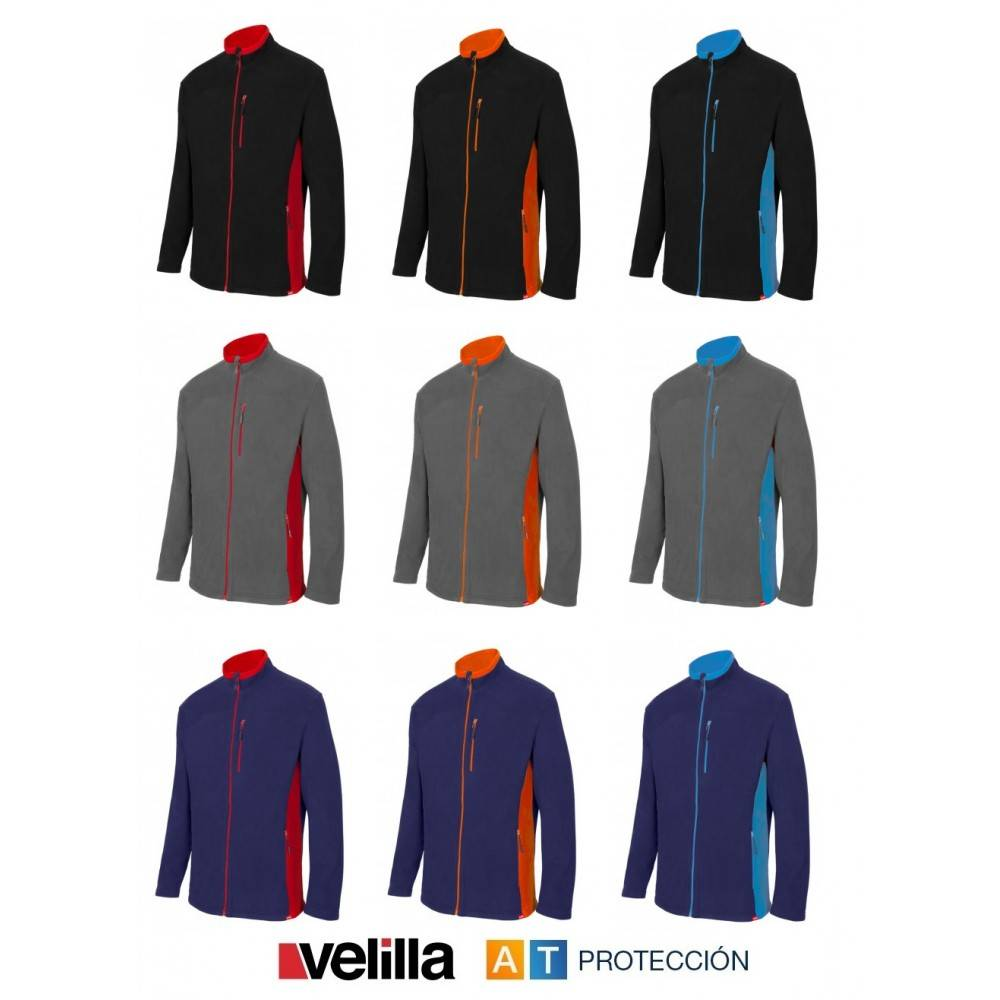 82d42995b3d Forro polar bicolor Velilla 201504