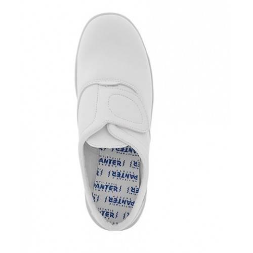 Zapatos Panter Brisa velcro blancas S2