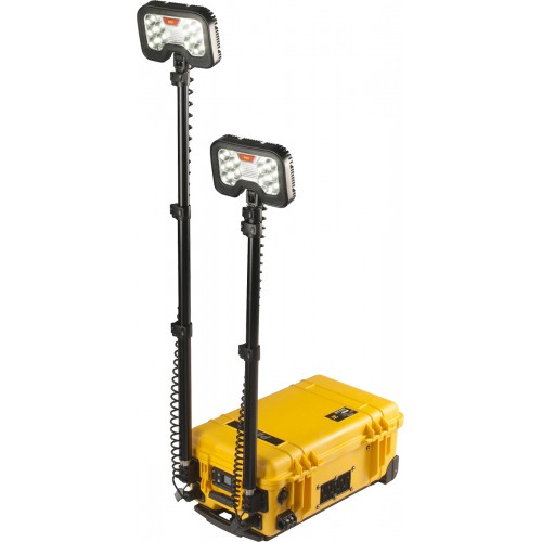Sistema de alumbrado de area remoto Peli Lighting