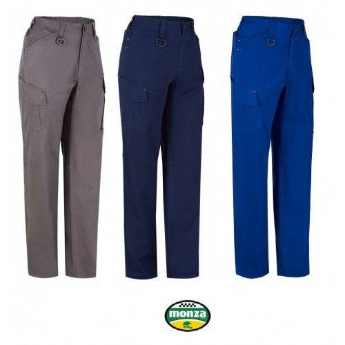 Pantalón multibolsillos reforzado Monza 1131P