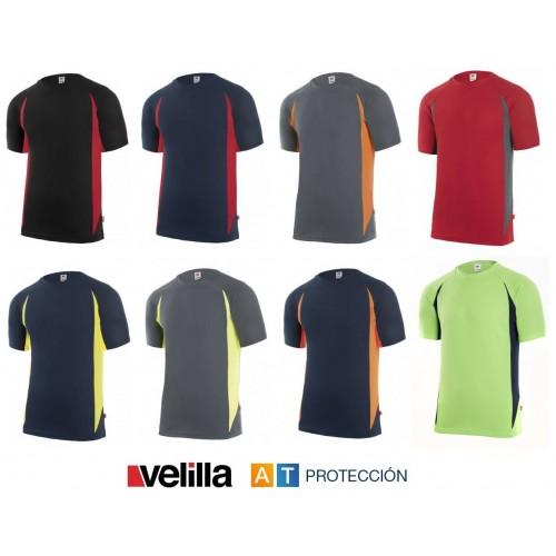 Camiseta técnica bicolor Velilla 105501