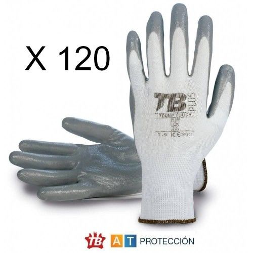 Pack 120 pares guantes nitrilo 700GPTOUCH