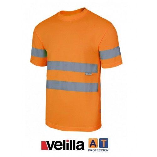 Camiseta técnica alta visibilidad velilla 305505