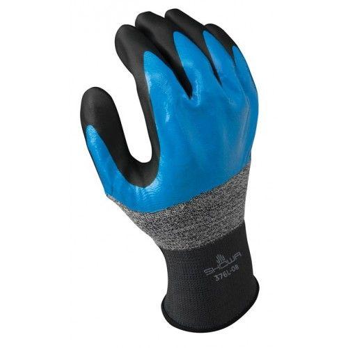 Par guantes nitrilo Showa 376 Talla 9/XL outlet