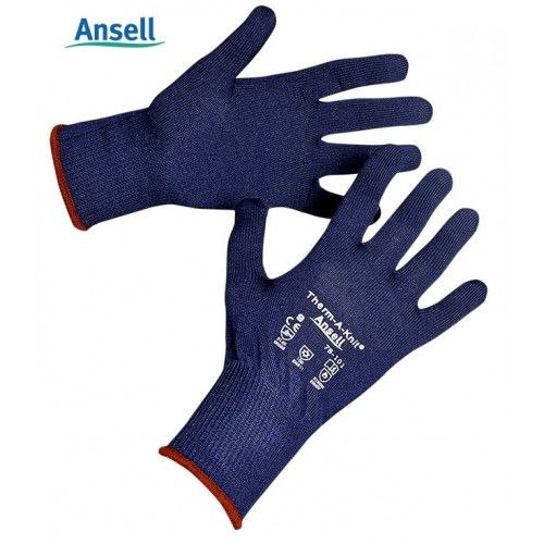 Par guantes para frio Ansell Therm-A-Knit - OUTLET