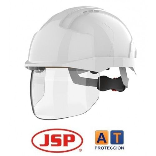 Casco JSP VISTASHIELD con visor retráctil
