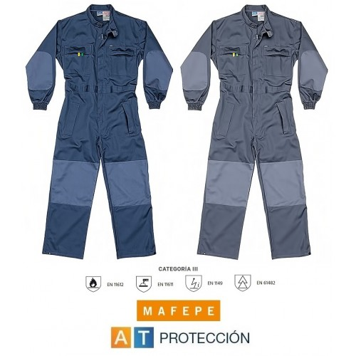 BUZO IGNIFUGO y ANTIESTATICO 100% algodón