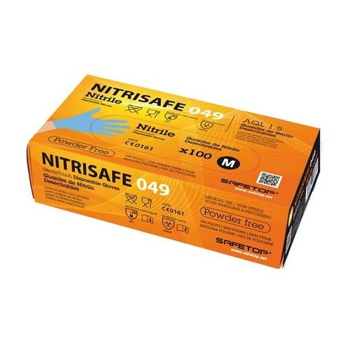 Guantes de nitrilo Safetop 049A 100unid.