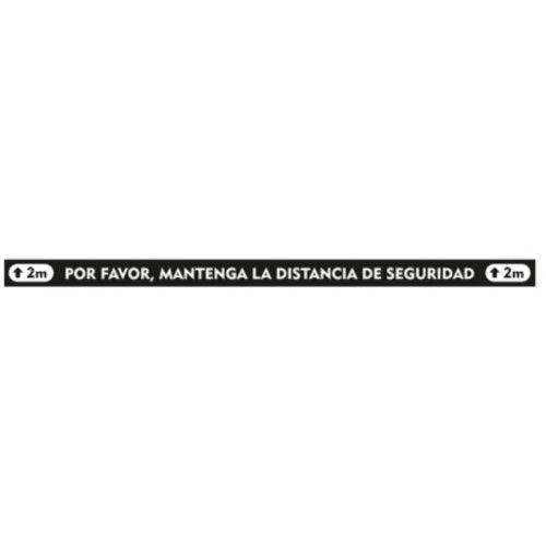 "Señal ""MANTENGA LA DISTANCIA DE SEGURIDAD"""