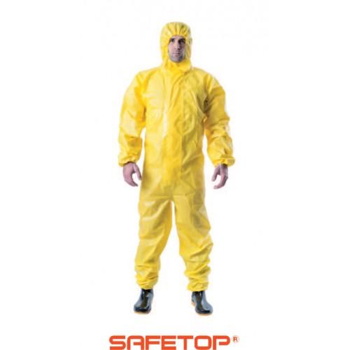 Buzo Antivirus Amarillo B-SKIN-ULTIMATE Safetop