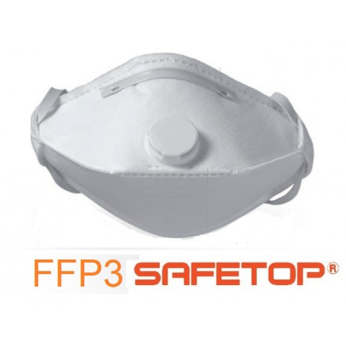 Pack 10 mascarillas Antivirus Safetop FFP3