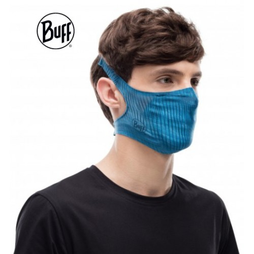 Mascarilla Buff Filter Mask- Blue