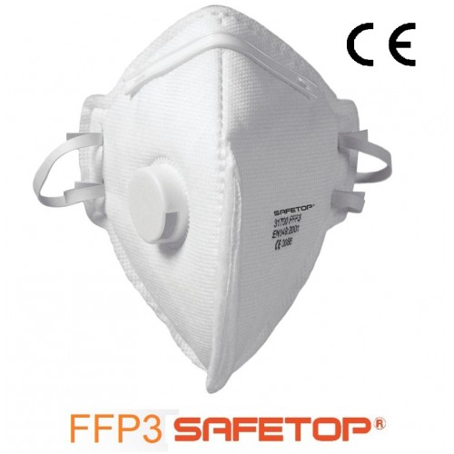 Pack 5 mascarillas antivirus Safetop FFP3