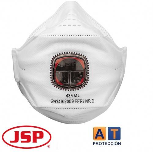 PACK 10 MASCARILLAS FFP3 JSP SPRINGFIT 435ML