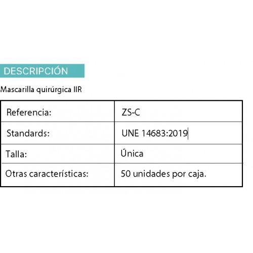 Pack 50 mascarillas quirúrgicas triple capa + Gel Hidroalchólico 100 ml