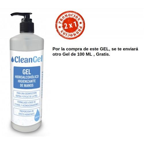 Gel desinfectante de manos HIDROALCOHOLICO 500 ml