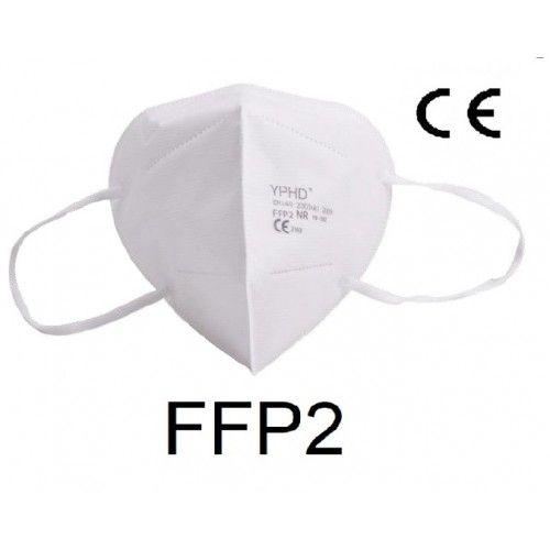 Caja 50 Unidades Mascarillas FFP2 sin válvula IRUDEK