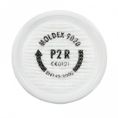 Filtros de partículas EASYLOCK MOLDEX P2