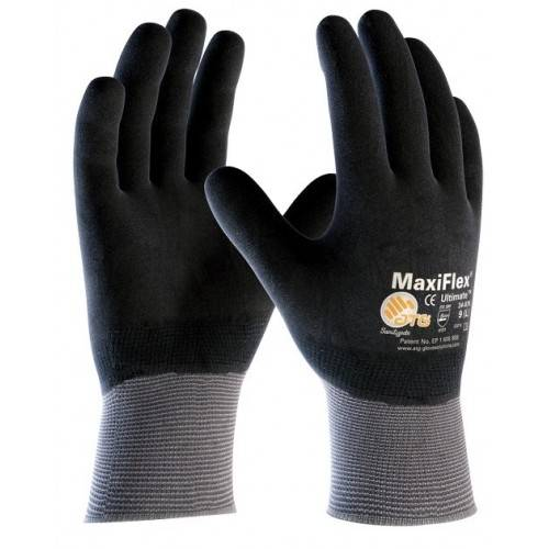 Guantes poliuretano-nitrilo ATG Maxiflex Ultimate cubierto Tallas 7-8-10