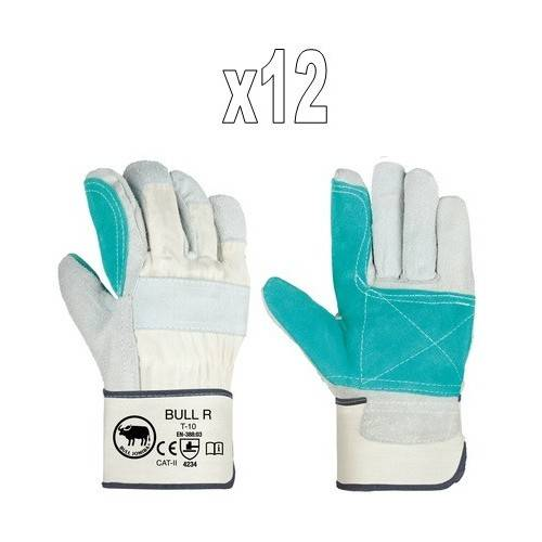Pack guantes americanos reforzados BULL R1
