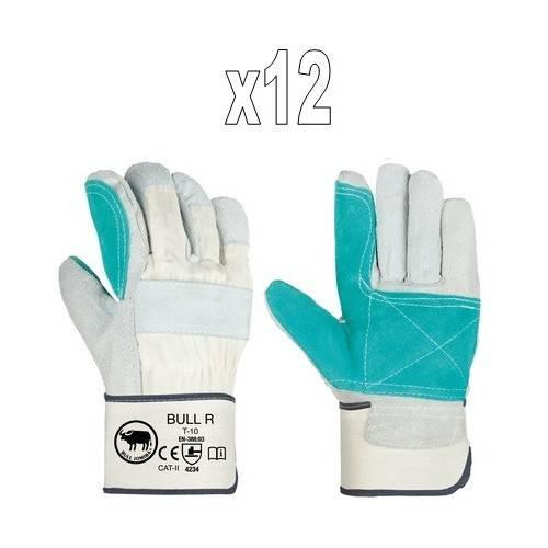 Pack guantes americanos reforzados BULL R1